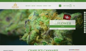 Charlies-Cannabis Website