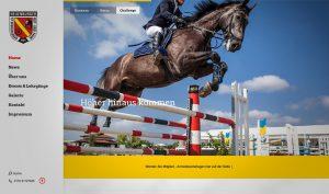 Reit und Fahrverein Neuenburg Website
