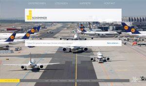 Schimmer-Spezialgerüstbau Weiterstadt Website